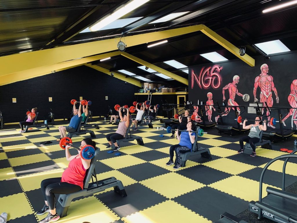 New NGS Fitness Gym Upstairs